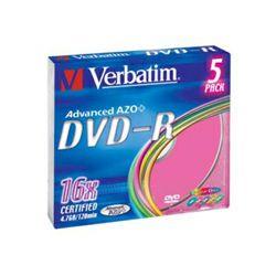 DVD-R 5 SC/16x/4.7GB Colour