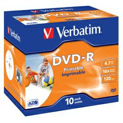 DVD-R 10JC/16x4.7GB Wpp ID
