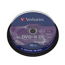 DVD+R DL 10kom S/8x/8.5GB