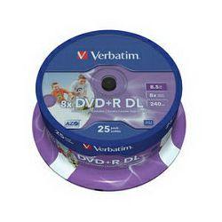 DVD+R DL 25 S/8x/8.5GB no ID