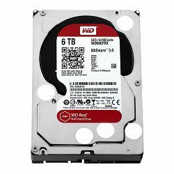 HDD Desktop WD Red (3.5, 6TB, 64MB, RPM IntelliPower, SATA 6 Gb/s)