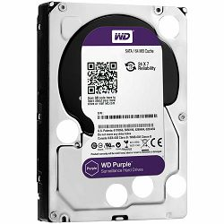HDD AV WD Purple (3.5, 6TB, 64MB, 5400 RPM, SATA 6 Gb/s)