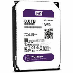 HDD AV WD Purple (3.5, 8TB, 128MB, 5400 RPM Class, SATA 6 Gb/s)
