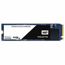 SSD WD Black (M.2, 256GB, PCIe Gen3 x4 NVMe-based)