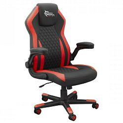 Ergonomska gaming stolica Dervish crno/crvena