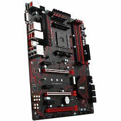 MSI Main Board Desktop X370 (SAM4, 4xDDR4, 3xPCI-Ex16, 3xPCI-Ex1, USB3.1, USB2.0 ,6xSATA III, M.2, Raid, DVI-D, HDMI, GLAN) ATX Retail