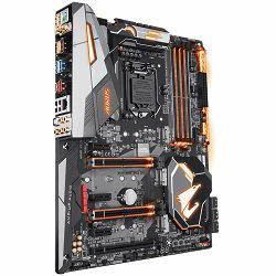 GIGABYTE Main Board Desktop INTEL Z370 (Socket LGA1151, 4xDDR4, DisplayPort/HDMI, 1xPCIEX16/1xPCIEX8/1xPCIEX4/4xPCIEX1, USBTypeC/USB3.1/USB2.0, 6xSATA III/3xM.2 socket3, RAID, WiFi, BT, LAN, RGB) ATX