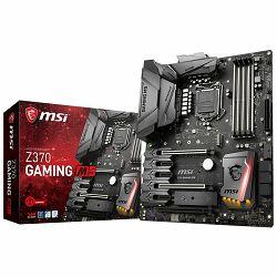 MSI Main Board Desktop Z370 (S1151, 4xDDR4, 3xPCI-Ex16,3xPCI-Ex1, USB3.1,USB2.0, 6xSATA III,2xM.2,Raid, HDMI,DVI-D, GLAN, RGB) ATX Retail