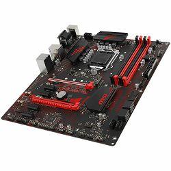 MSI Main Board Desktop Z370 (S1151, 4xDDR4, 2xPCIEx16,4xPCI-Ex1, USB3.1,USB2.0, SATA III,Raid,M.2, VGA,DVI,DP, GLAN, LED) ATX Retail