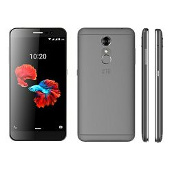Smartphone ZTE Blade A910, DualSIM, sivi