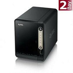 ZyXEL 2-bay Single Core Personal Cloud Storage