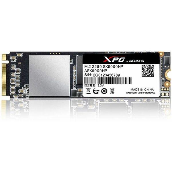 SSD 256GB AD SX6000NP PCIe M.2 2280  ASX6000NP-256GT-C