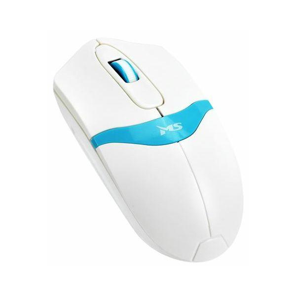 MS POLO žičani miš, bijeli