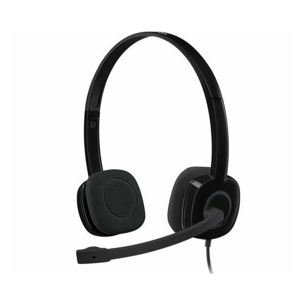 Slušalice Logitech H151 black