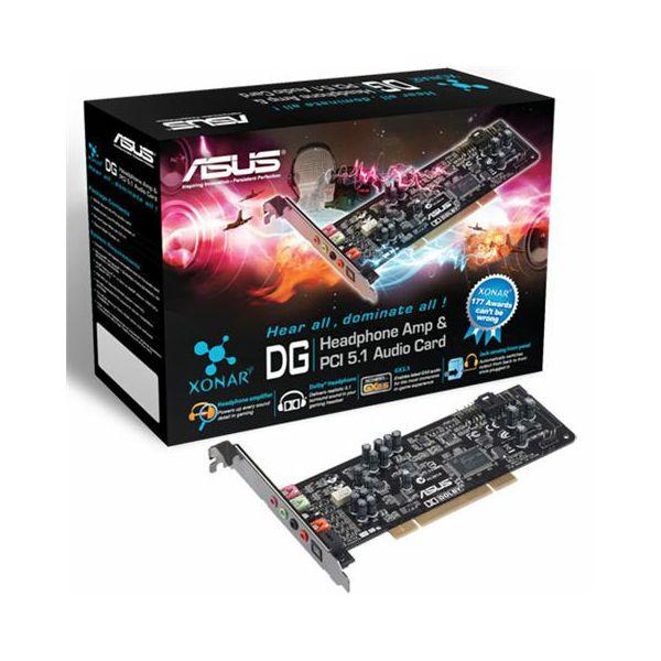 Zvučna kartica Asus XONAR DG PCI 5.1  90-YAA0K0-0UAN0BZ