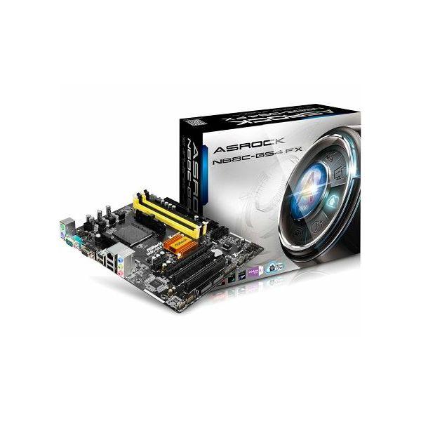 Matična ploča ASRock N68C-GS4 FX DDR3, DDR2 + DDR3