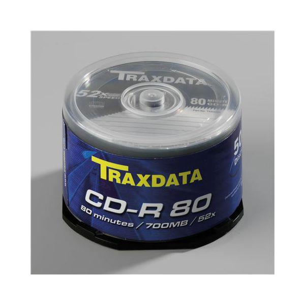 TRAXDATA OPTIČKI MEDIJ CD-R CAKE 50  9017E3ITRA002