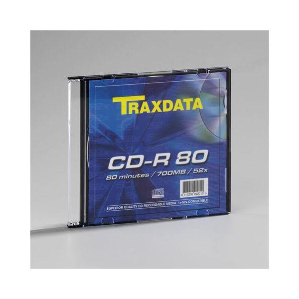 TRAXDATA OPTIČKI MEDIJ CD-R SLIM BOX 1  90111DGTRA001