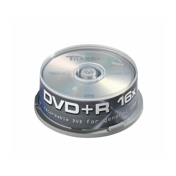 TRAXDATA OPTIČKI MEDIJ DVD+R 16X CAKE 25  9067A3ITRA016