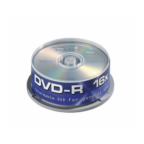 TRAXDATA OPTIČKI MEDIJ DVD-R 16X CAKE 25  9077A3ITRA014
