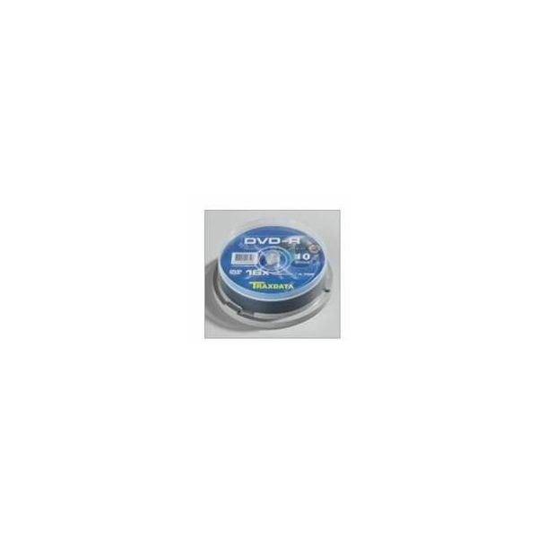 TRAXDATA OPTIČKI MEDIJ DVD-R 16X CAKE 10  907753ITRA001