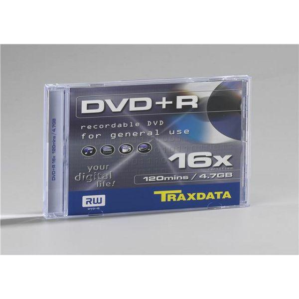TRAXDATA OPTIČKI MEDIJ DVD+R 16X BOX 1  906344ATRA005