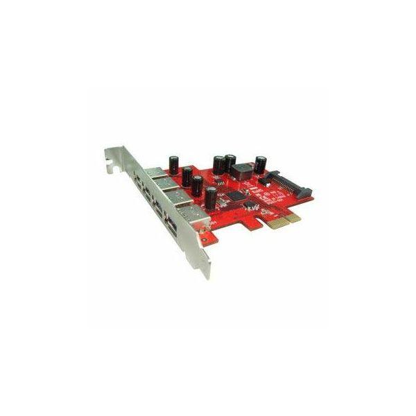Kontroler Lycom PCIe x1 na 4 USB 3.0  UB-120Ti