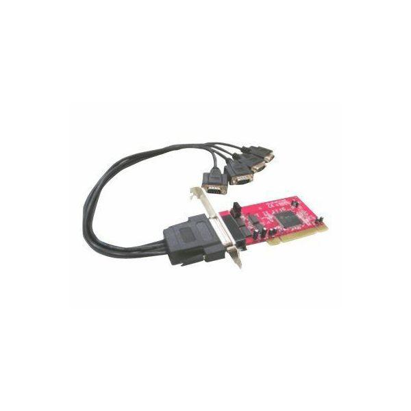 Kontroler Lycom PCI na 4 serijska (RS232) porta  IO-104