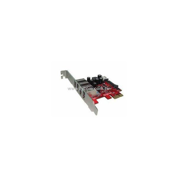 Kontroler Lycom PCIe x1 na 4 USB 3.0  UB-120LN