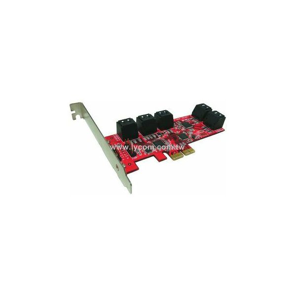 Kontroler Lycom PCIe Host adapter 2.0 AHCI  PE-129