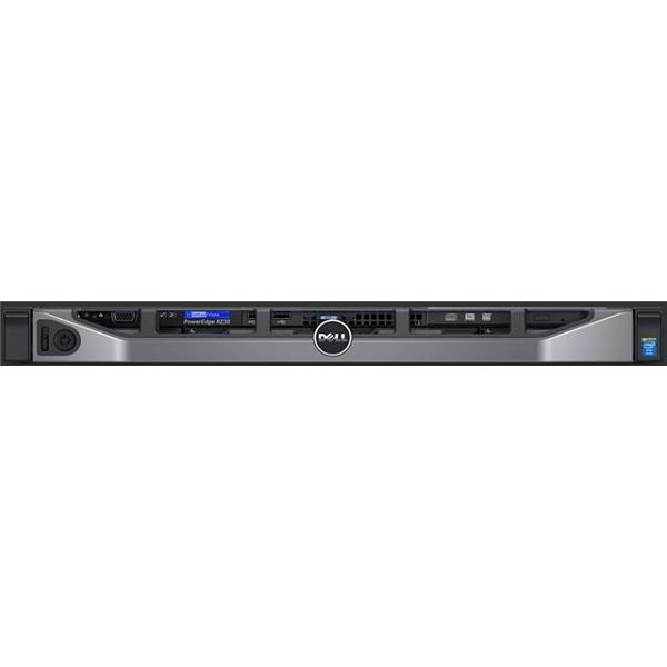 SRV DELL R230 E3-1220v6, 1x 4TB, 1x8GB MEM  PER2302C