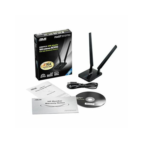 Wireless router Asus USB-N14
