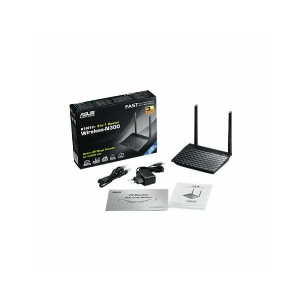 Wireless router Asus RT-N12 PLUS