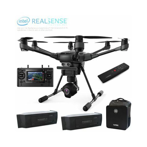 Yuneec Typhoon H Pro+ruksak+kamera+2 baterije+Intel RS  YUNTYHBREU