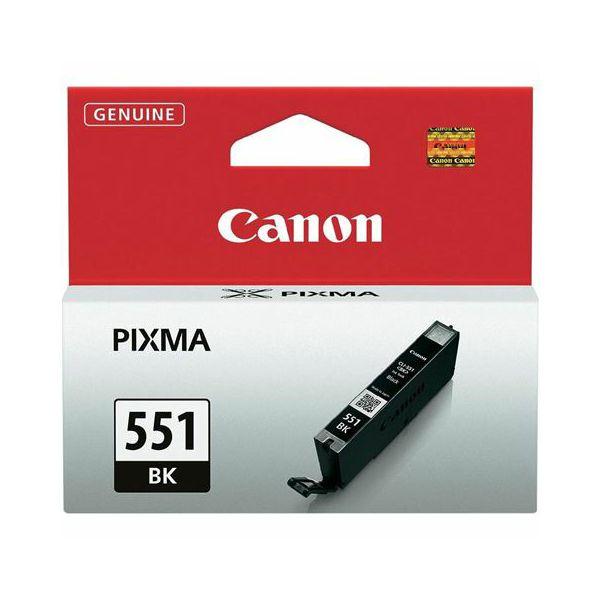 Tinta Canon CLI-551 BK  CLI-551 BK