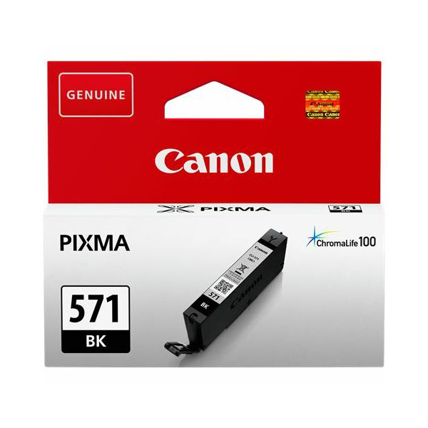 Tinta Canon CLI-571BK black  CLI-571BK
