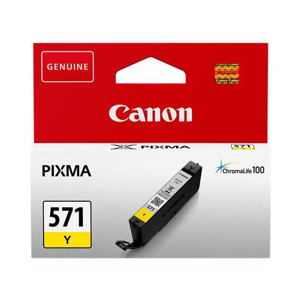 Tinta Canon CLI-571Y Yellow  CLI-571Y