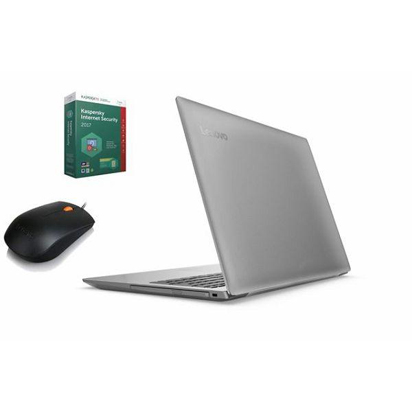 Lenovo prijenosno računalo 320-15IAP, 80XR012KSC+miš+antivir