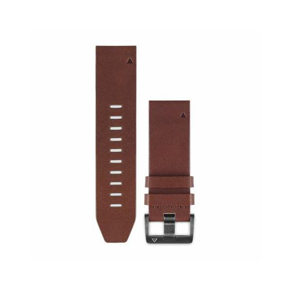 Garmin zamjenski remen za fenix 5 - kožni smeđi