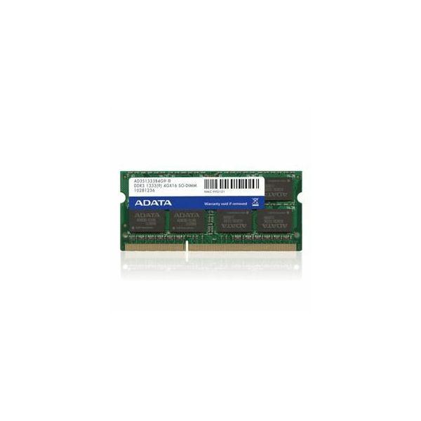 Memorija Adata SO-DIMM DDR3 2GB 1333MHz, bulk  AD3S1333C2G9-B