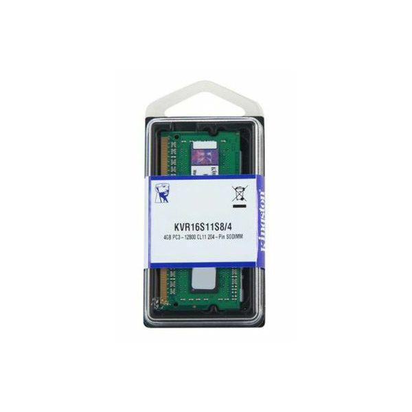 Memorija za prijenosna računala Kingston DDR3 4GB 1600MHz  KVR16S11S8/4