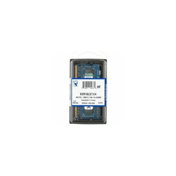 Memorija za prijenosna računala Kingston DDR3L 4GB 1600MHz  KVR16LS11/4
