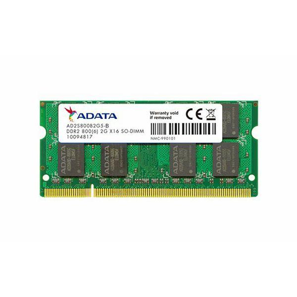 Memorija za prijenosna računala Adata DDR2 2GB 800MHz, bulk  AD2S800B2G5-B