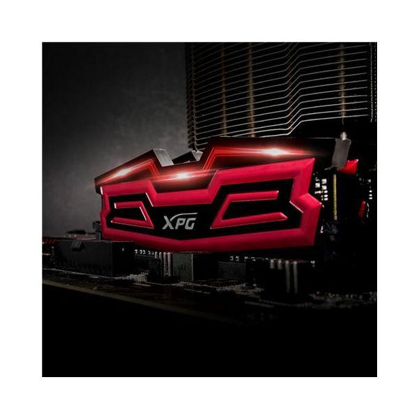 MEM DDR4 16GB 2400MHz (2x8) XPG DAZZLE AD LED  AX4U2400W8G16-DRD