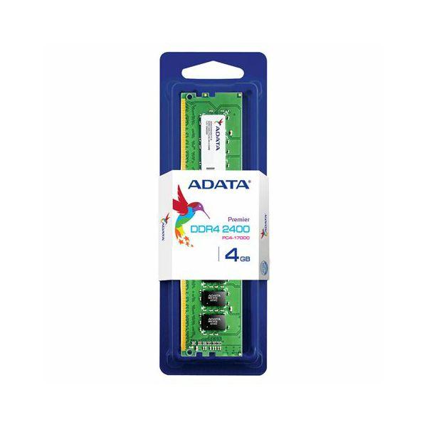 Memorija Adata DDR4 4GB 2400MHz Single Tray  AD4U2400J4G17-S