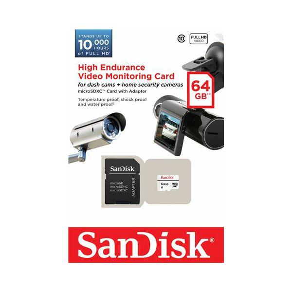 Memorijska kartica MicroSDHC Sandisk Video Monitoring 64GB
