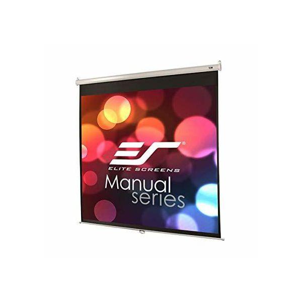 EliteScreens projekcijsko platno zidno 153x153cm