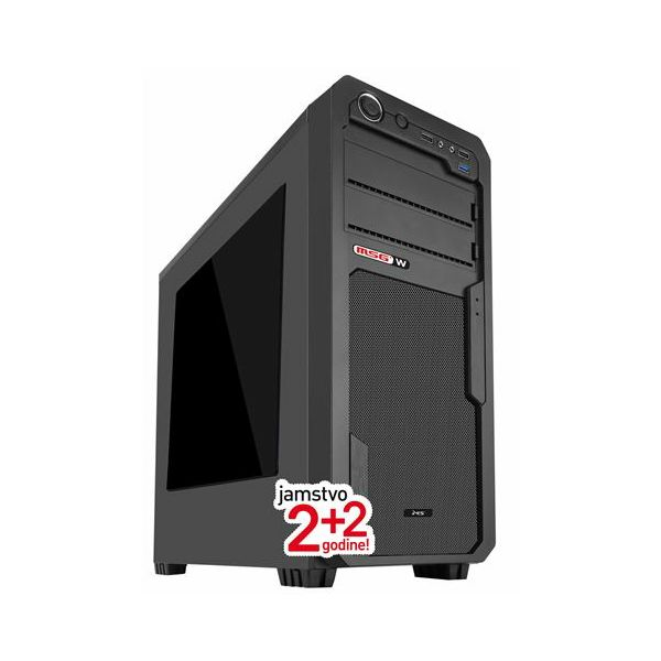 MSGW stolno računalo Play i144  PC MSGW Home Play i144 +2Y/HR