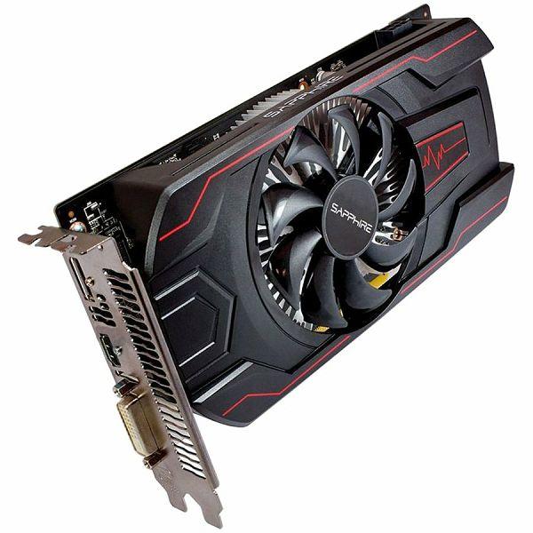 SAPPHIRE Video Card AMD Radeon PULSE RX 560 16CU 4G GDDR5 HDMI / DVI-D / DP OC (UEFI) LITE