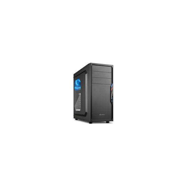 Sharkoon VS4-W Midi Tower ATX kućište, bez napajanja, crno